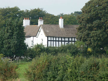 A photo of the listed Old Hall Farm, Old Hall Lane.