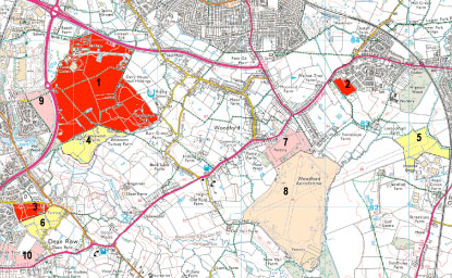 Cheshire East Local Plan Map March 2016