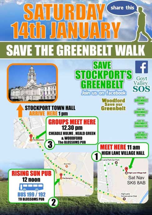 Save the Green Belt Walk small poster