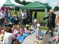 A small photo taken at the 2012 Christ Church Woodford Summer Fair