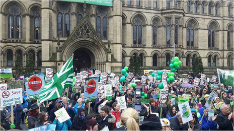 Rally to Save Greater Manchester's Green Belt Photo 1