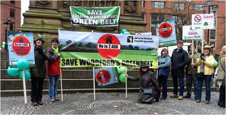 Rally to Save Greater Manchester's Green Belt Photo 2