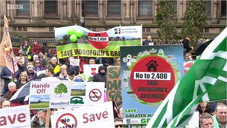 Rally to Save Greater Manchester's Green Belt Photo 3