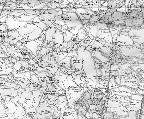 First OS Map of Woodford
