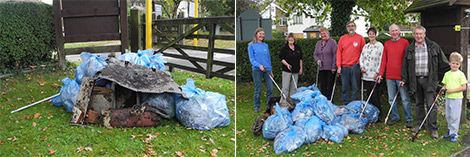 Woodford Community Litter Pick Up photos