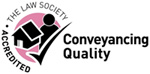The Law Society Accredited Conveyancing Quality Mark small logo